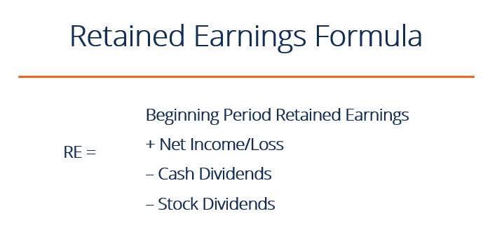 Formula For Retained Earnings