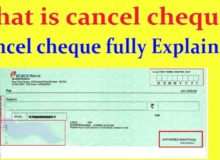 All You Need to Know About Cancelled Cheque